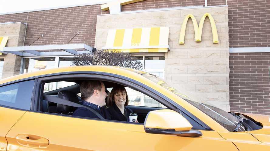 Ford e McDonald's, plastica dagli scarti del caffè