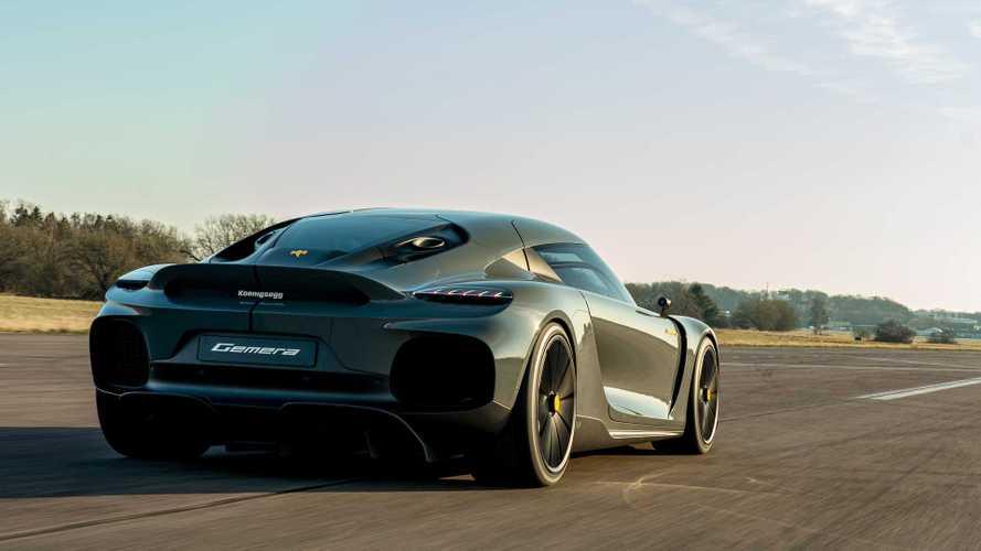 Supercar Blondie conoce en persona el Koenigsegg Gemera