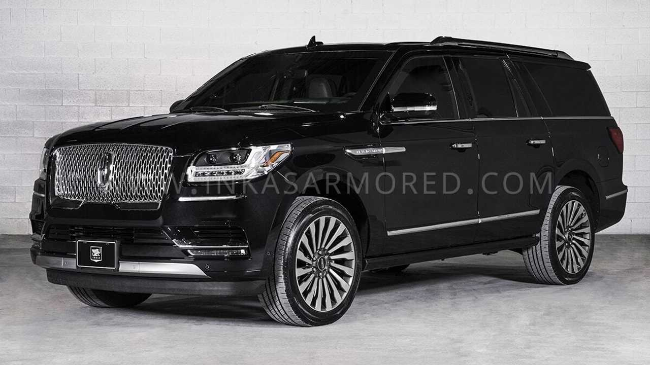 Lincoln Navigator L By Inkas Is An Armored Luxury Cocoon