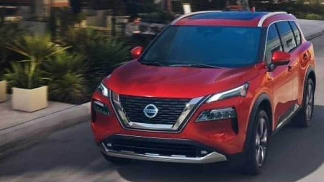 2021 Nissan Rogue Allegedly Leaked
