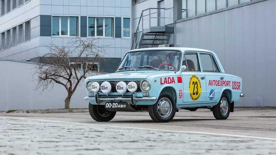 Реплика ВАЗ-2101 – участника ралли Tour d'Europe 1971