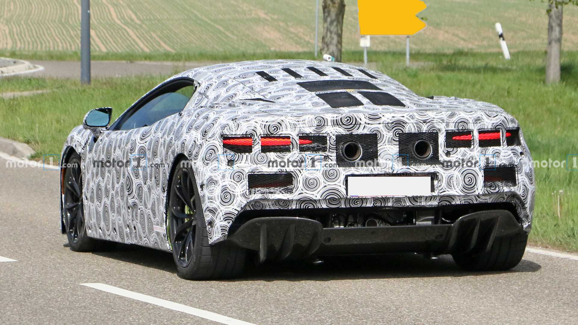 McLaren Sport Series Successor Spy Photos