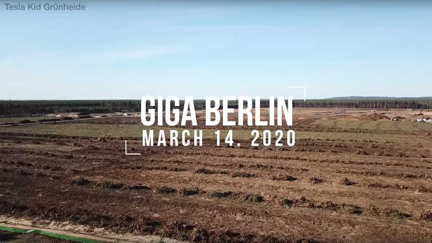 Tesla Gigafactory 4: Site Preparation After One Month