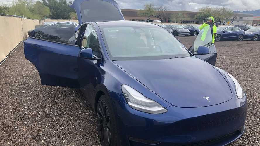 New Tesla Model Y images surface: reveal lots more