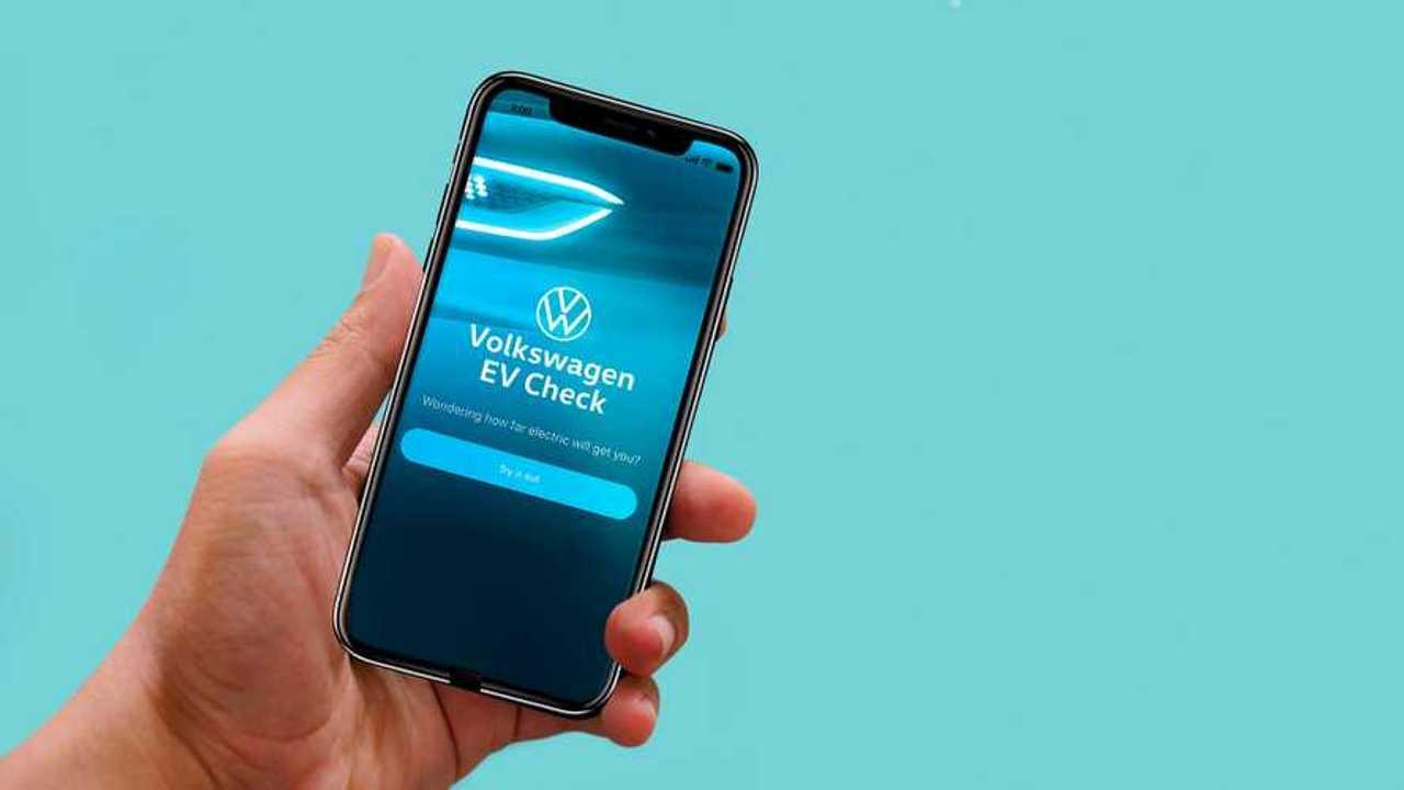 Da Volkswagen una app per capire quanto può convenire l'auto elettrica