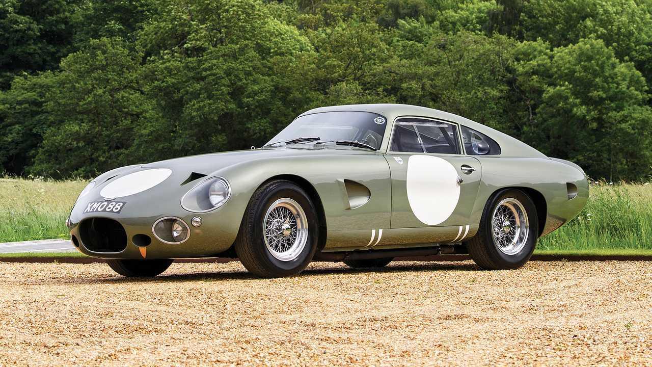 Aston Martin DP215 (1963) - 19,4 миллиона евро