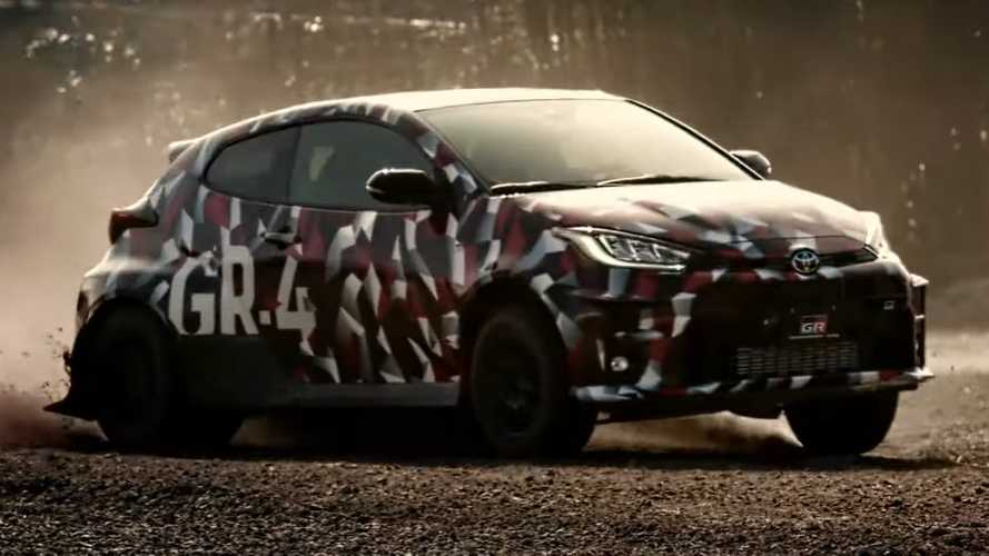 2020 Toyota GR Yaris new teaser hints at all-wheel drive