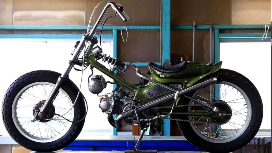 This Modified Honda Super Cub Is Completely Out Of This World