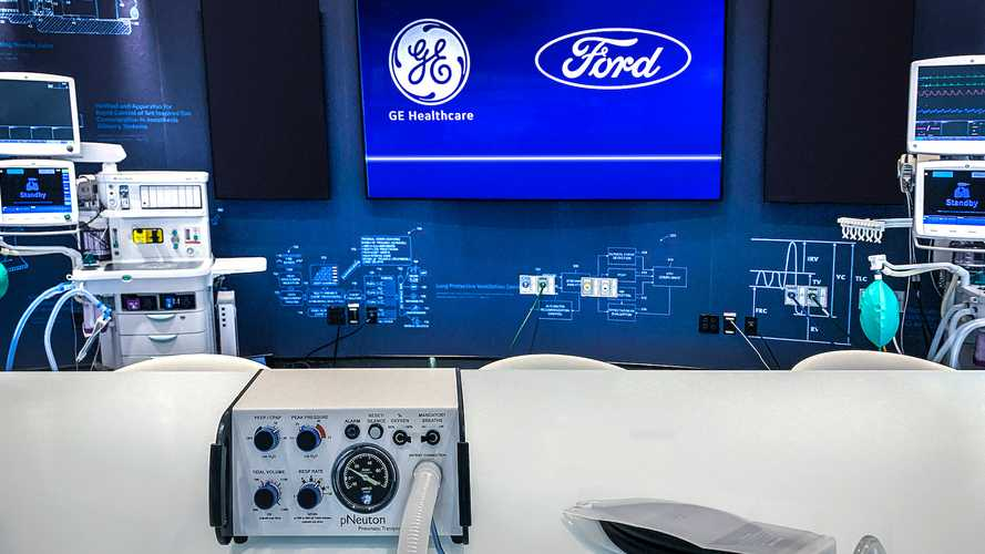 Ford Making 50,000 Ventilators With GE In Next 100 Days