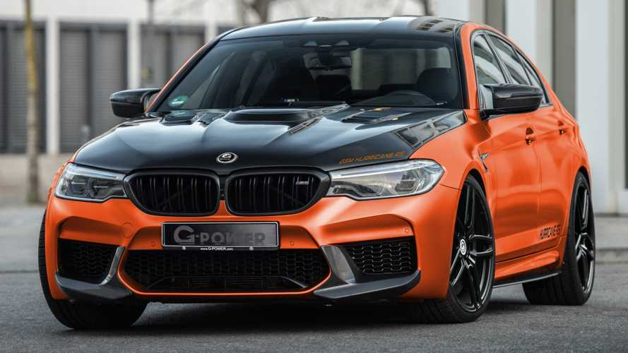 217-mph BMW M5 By G-Power rocks you like a Hurricane with 829 bhp