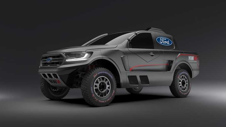 Ford Built A Raptor-Powered Ranger For Cross Country Racing