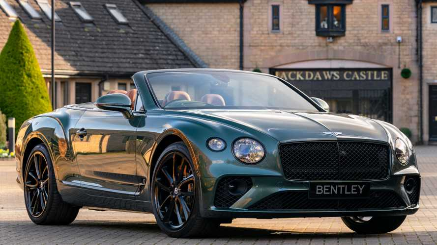 Bentley Conti GT Convertible Equestrian arrives ready for horse play