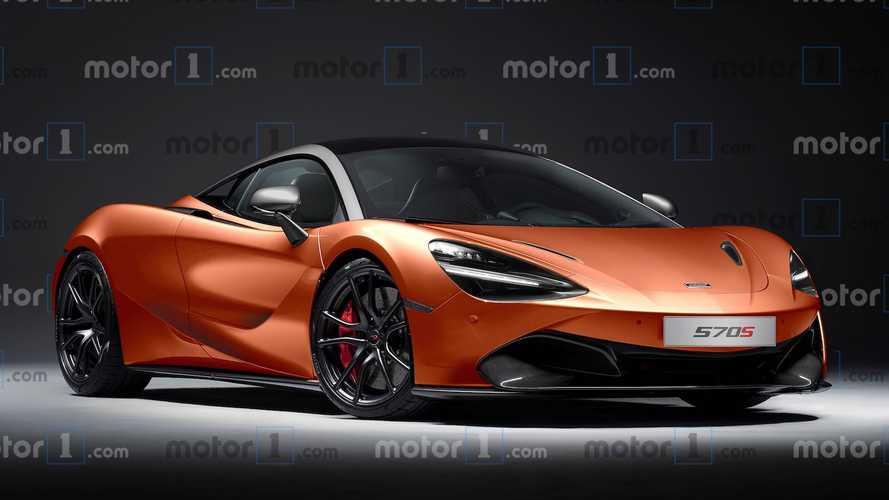 McLaren 570S Successor Envisioned With Sharp Styling, 720S Cues
