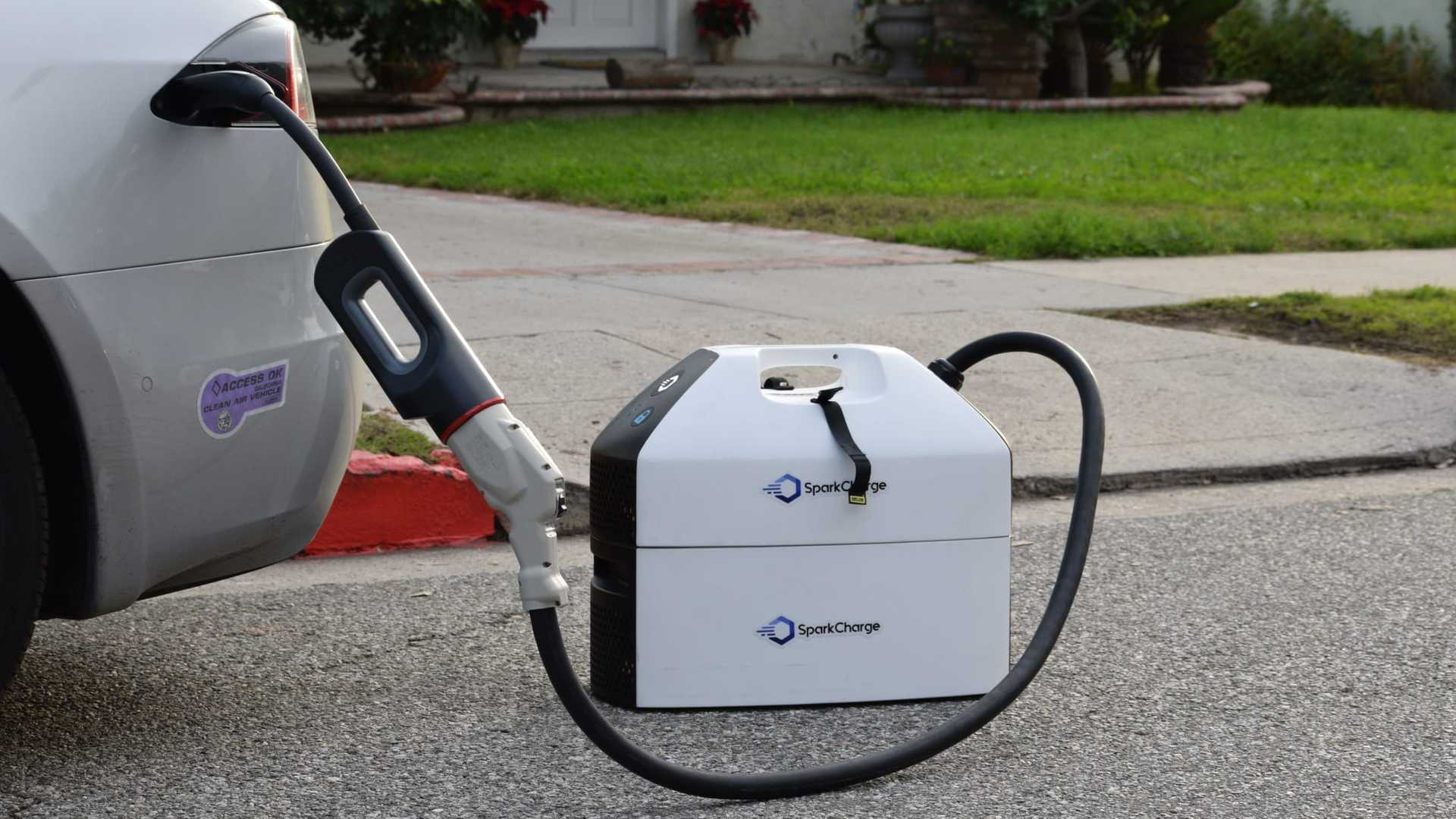 SparkCharge Portable EV Charger