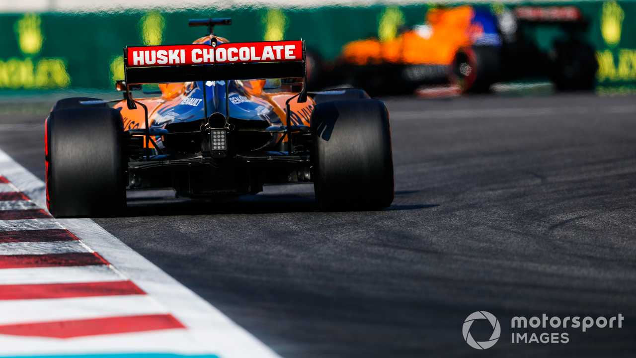 Carlos Sainz Jr at Abu Dhabi GP 2019