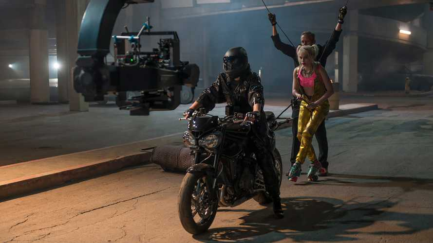 The Triumph Street Triple RS Fights Crime In Birds Of Prey