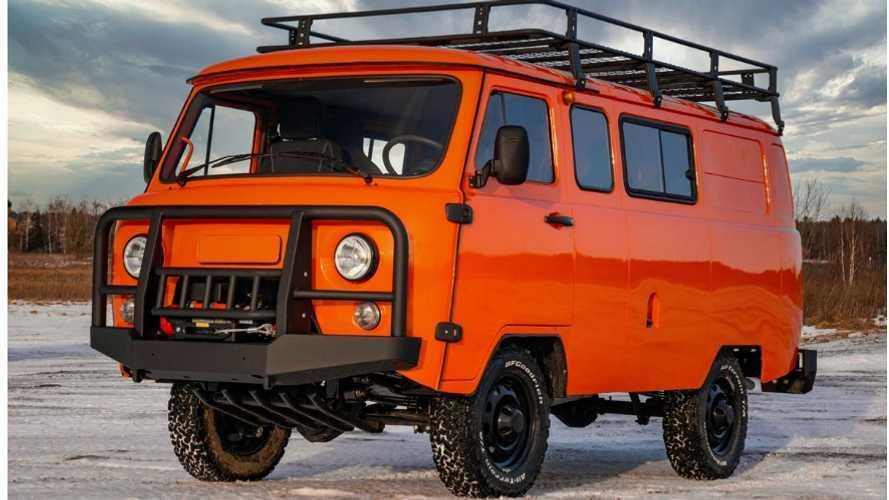 UAZ Combi Expedition, la furgoneta rusa que podrás usar como camper
