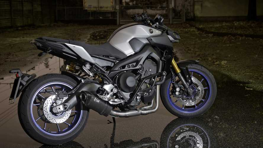 Exan, tre nuovi scarichi per la Yamaha MT-09