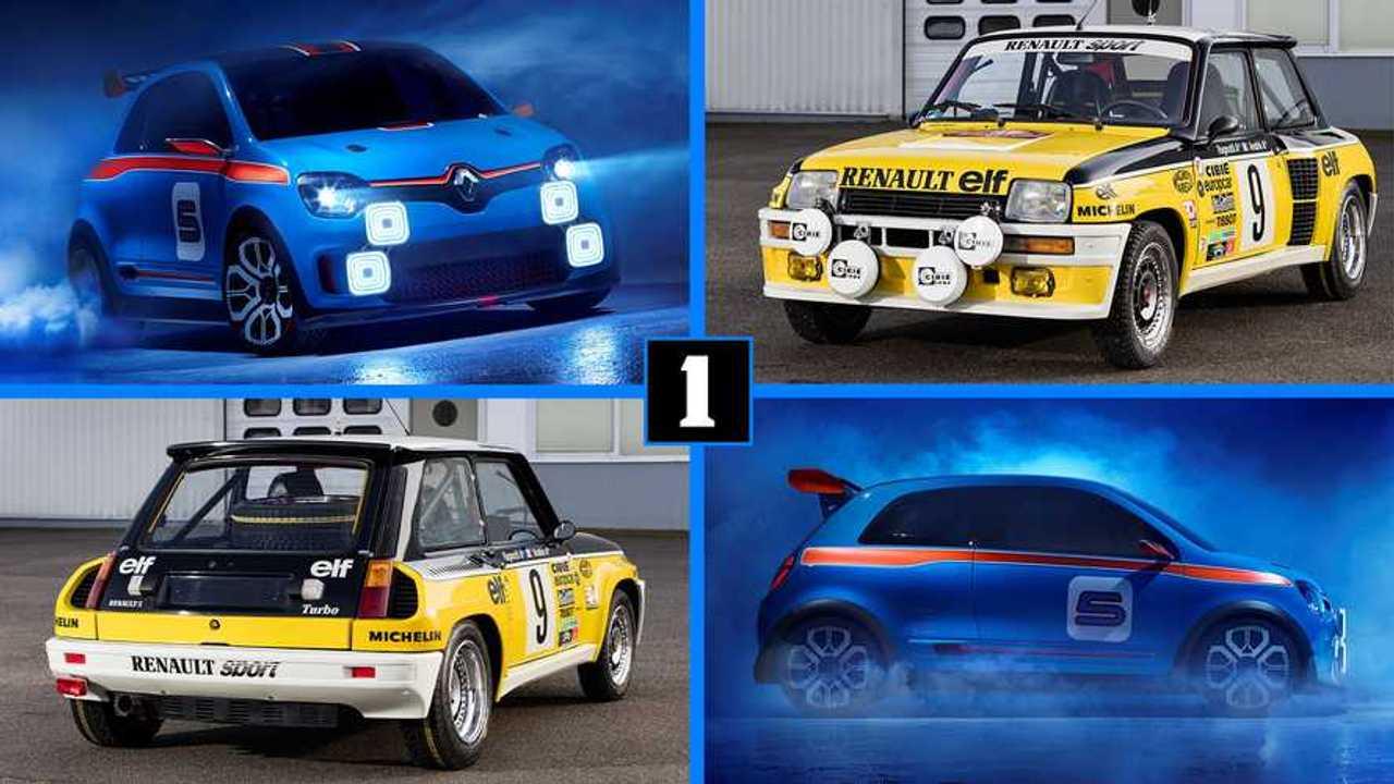 Renault Twin'Run y Renault 5 Turbo