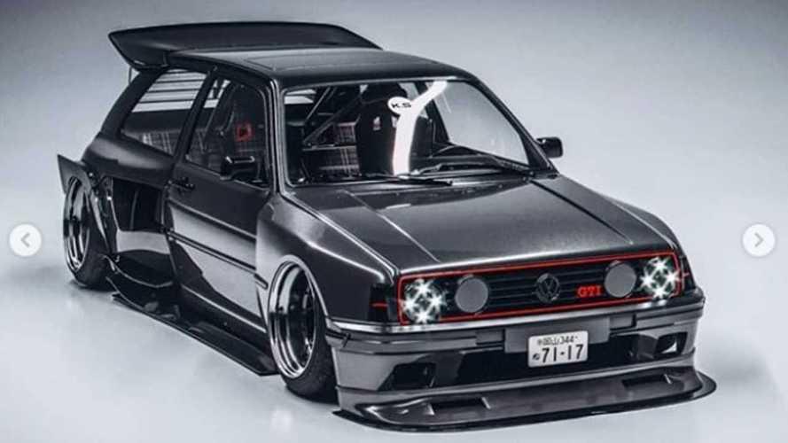 Du rêve à la réalité, cette monstrueuse Golf GTI va être produite !