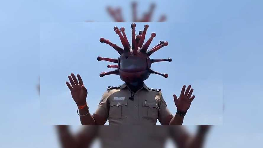 Indian Police Are Using Humor To Raise Virus Awareness
