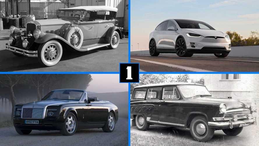 7 автомобилей (дорогих и не очень) известных всем юмористов