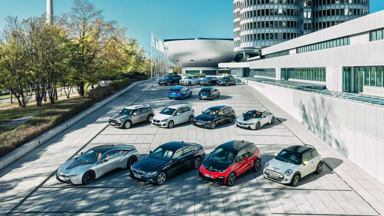 BMW electrified lineup