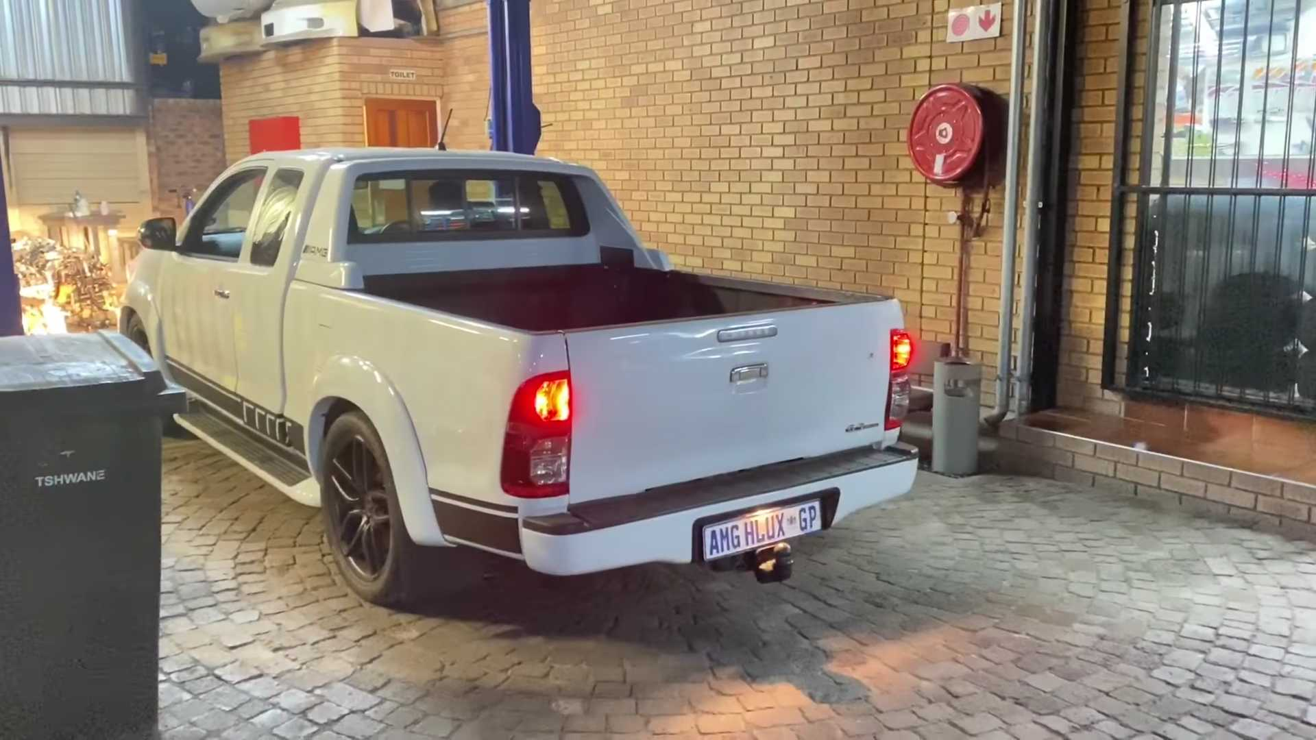 Toyota Hilux With AMG Power