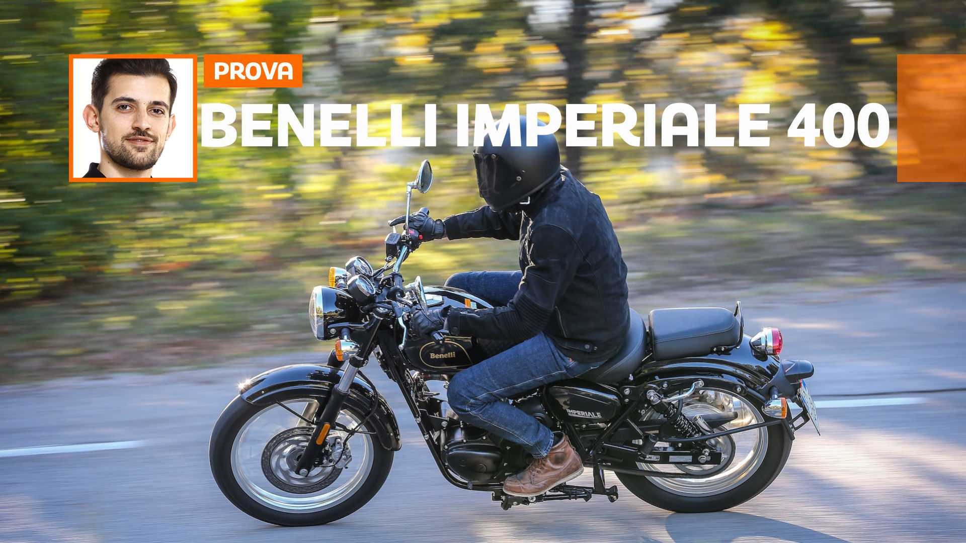 Benelli Imperiale 400 – TEST