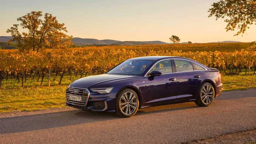 Audi A6 тест-драйв в Провансе