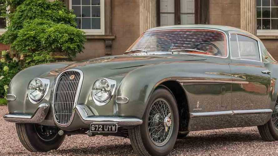 One-off Pininfarina Jaguar XK120 to make first UK appearance
