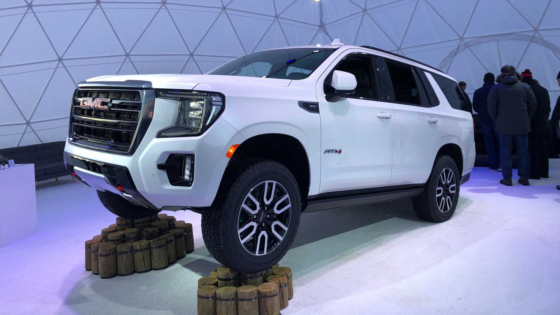 2021 Gmc Yukon Debuts With Bold Looks New At4 Trim