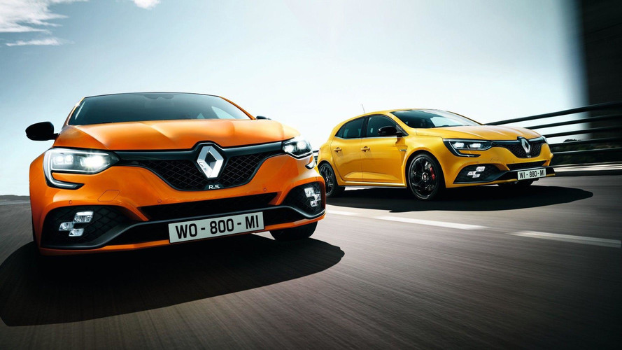 2018 Renault Megane RS official image