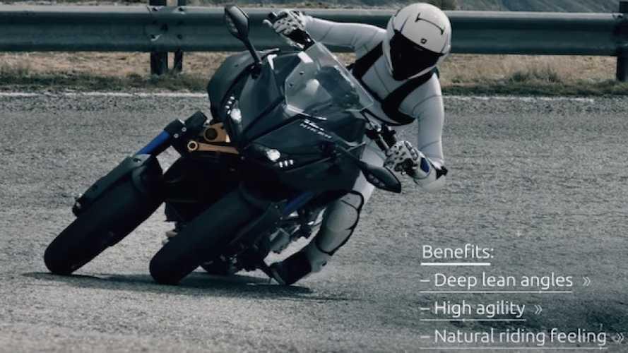 Yamaha Niken, un video spiega come funziona la sospensione anteriore