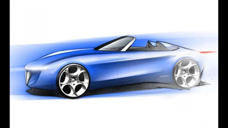 Alfa Spider by Pininfarina: il secondo bozzetto