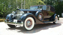 1934 Packard V12 Convertible Victoria