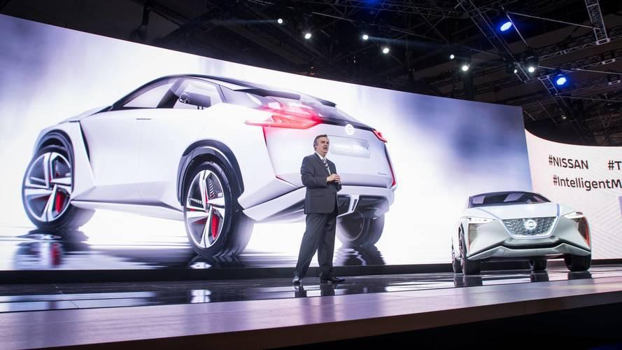 2017 Nissan IMx tanulmány