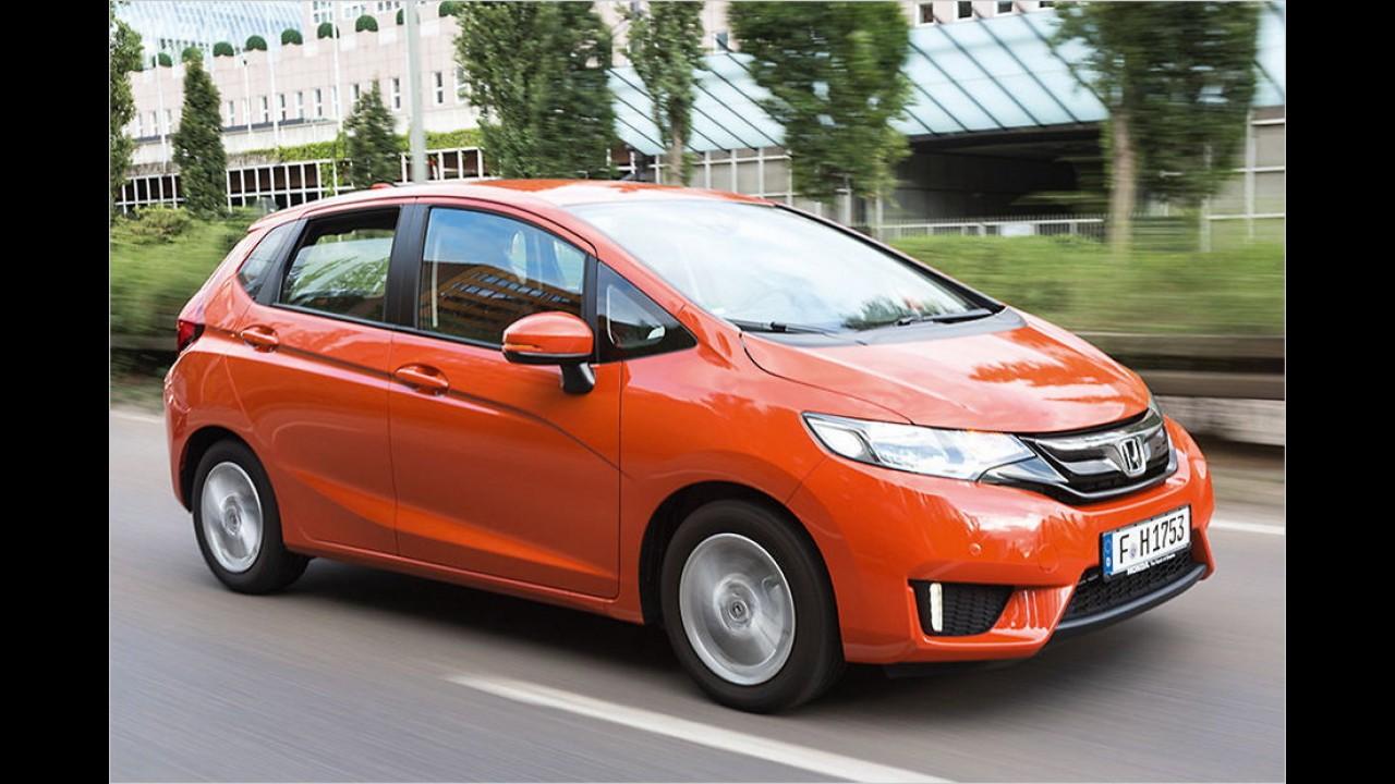 Platz 3: Honda Jazz (354 Liter)