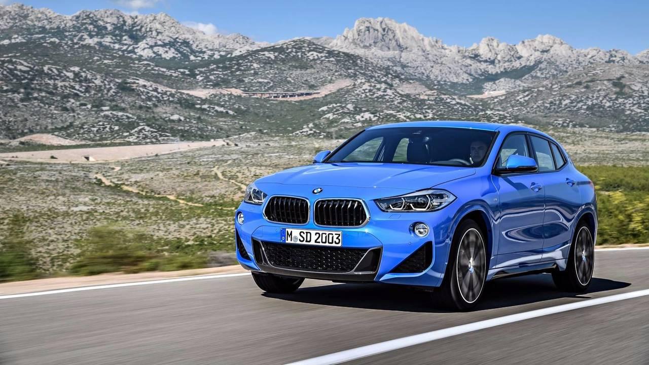 Den BMW X2 gibt es als Jahreswagen für 301 Euro monatlich