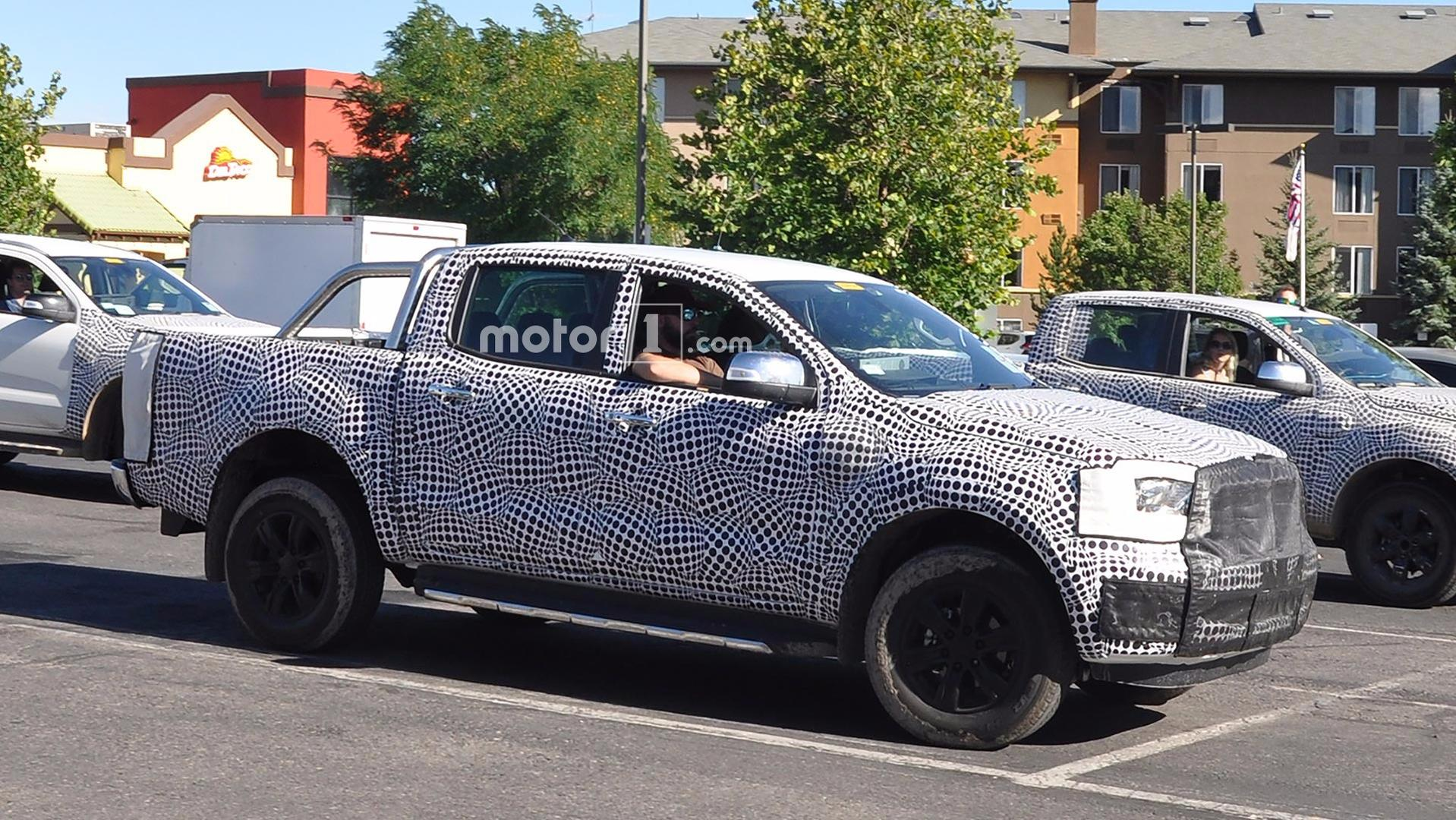 2019 Ford Ranger Wildtrak Spied Testing In The U S
