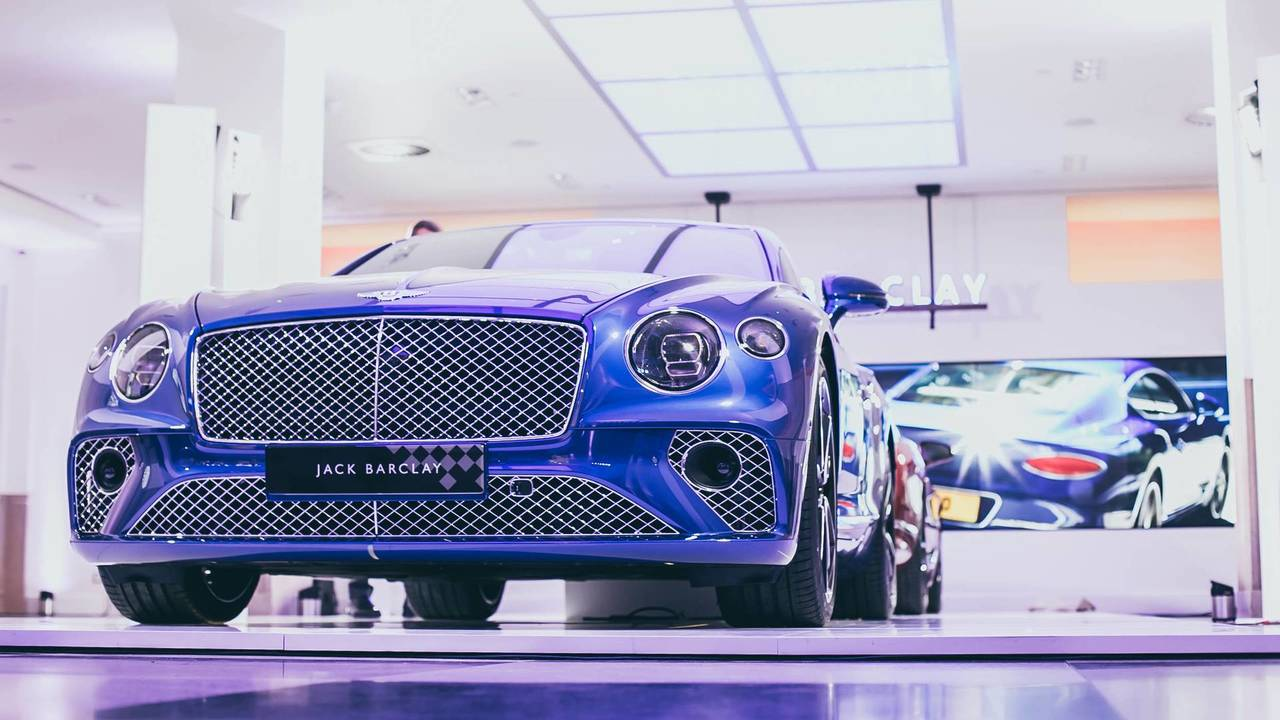 2018 Bentley Continental GT makes UK debut