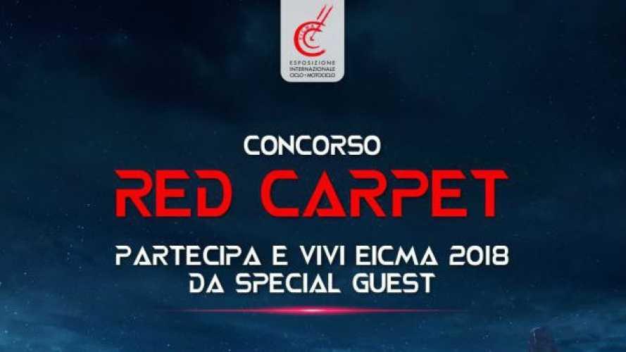 """EICMA 2018, con il biglietto online vinci il """"Red Carpet"""""""