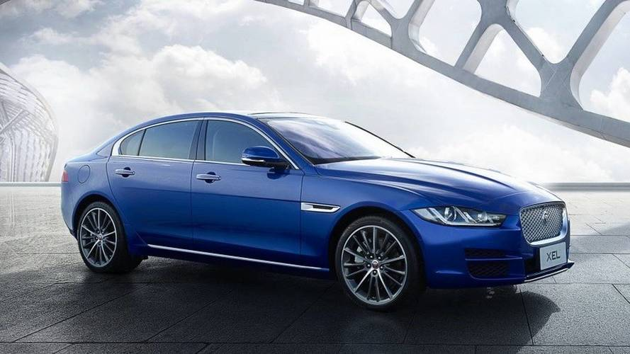 Jaguar reveals XE limo for Chinese market