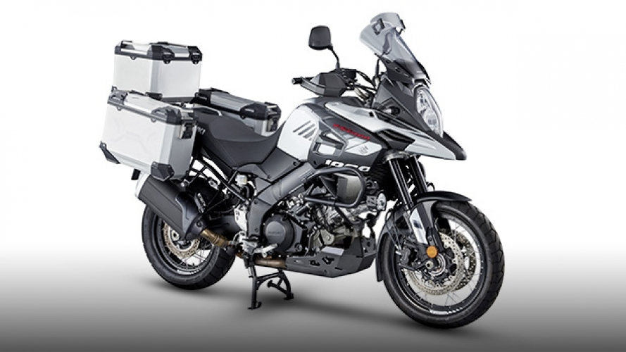 Suzuki, nuovi accessori per il V-Strom 1000