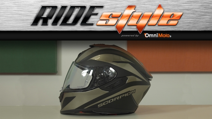 Ridestyle: casco Scorpion-EXO 1400 Air