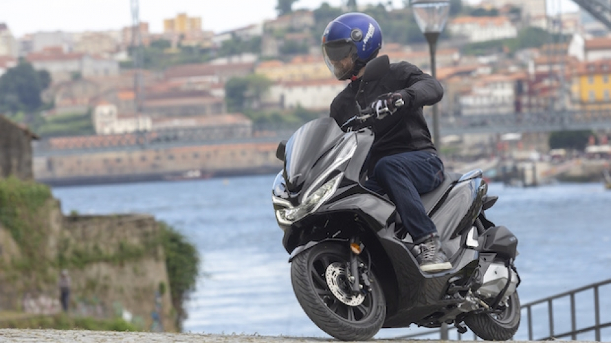 Honda PCX 125 2018 - TEST