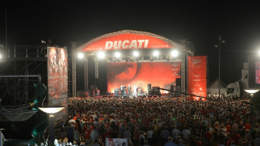 World Ducati Week, Nina Zilli in concerto