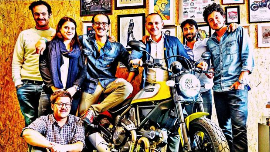"""Mario Alvisi: """"la Ducati Scrambler non è solo una moto ma un concetto di libertà"""""""