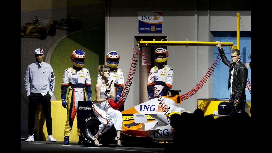 La Formula 1 in passerella
