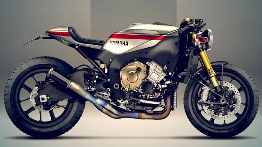 Yamaha R1M: sarebbe così in versione Faster Sons?